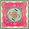 Новые шелковые саржевые шарф китайский ветер цепь леди дракон Ruyi шарфы