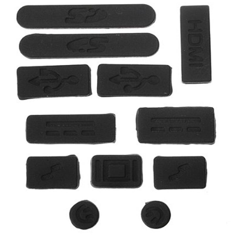 12 в 1 USB штекер Крышка Анти-пыль силикон для Macbook Pro 13