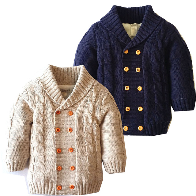 dc9b8986a Baby boy girl Winter Thick Clothes kids Warm sweater Jacket winter ...