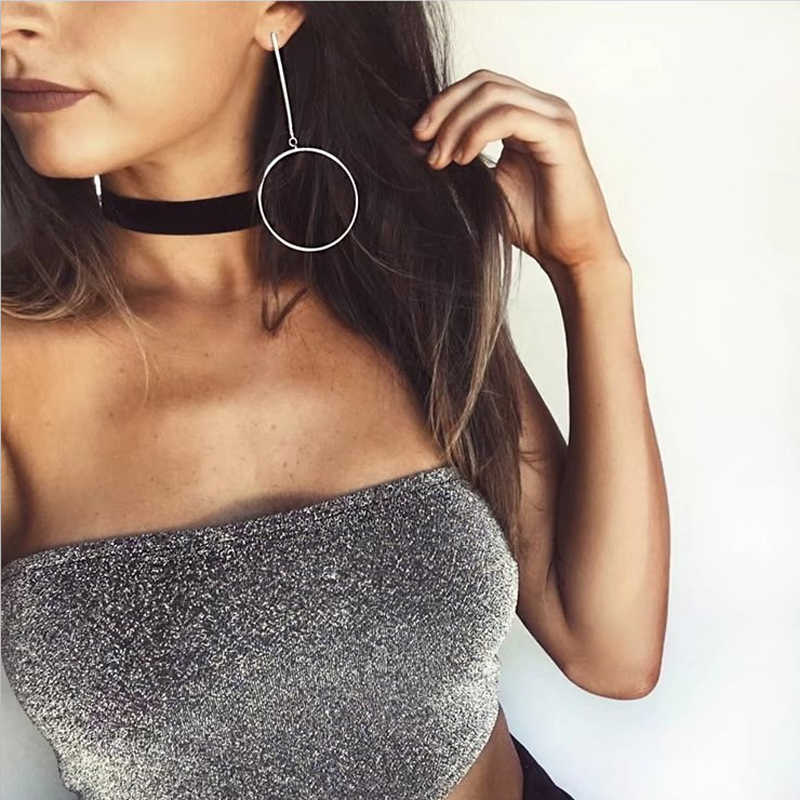 9656acd87e Detail Feedback Questions about Women Sparkle Tube Crop Tops Bling ...