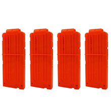 Tactical 12 Darts Transparent Clip of EKIND For Nerf Series Blasters Kid Toy Gun
