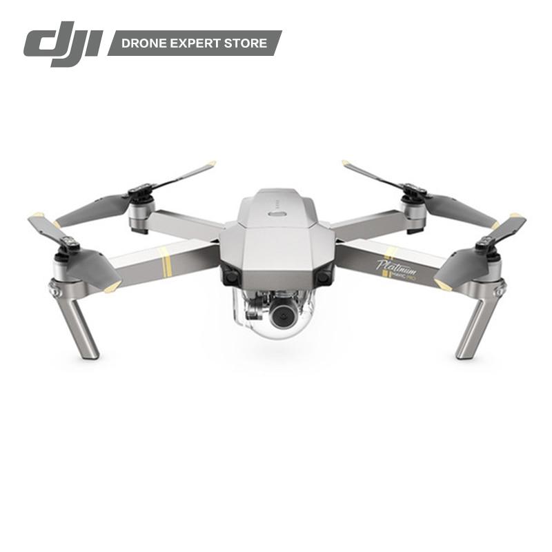 все цены на Original New DJI Mavic Pro Platinum Portable Drone Quadcopter 30-minute Max Flight Time 4k Camera 3-axis Gimbal 7km Wi-Fi FPV онлайн