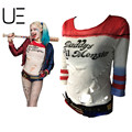 HOT TOP New Ripped Style Inspired Harley Quinn Shirt Daddy's Lil Monster Suicide Squad