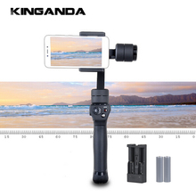 Handheld Gimble PTZ Stabilizer 3 Axis Triaxial Smart Mobile Cell Phone Action Camera Kit Selfie Stick 360 Degrees for Gopro Cam