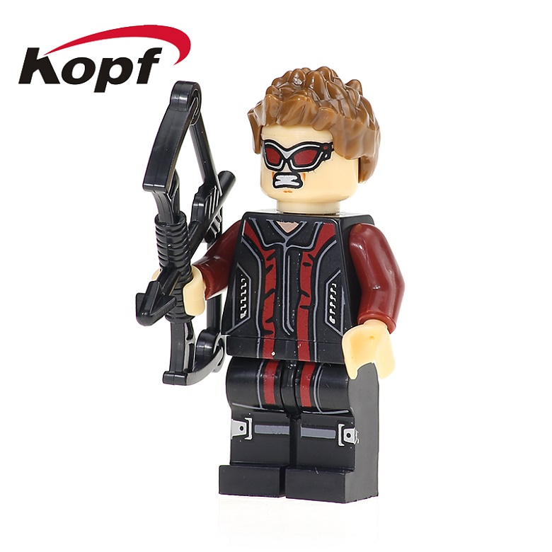 50Pcs XH 136 Hawkeye Goliath Barton Cyclops Doctor Moon Super Heroes Building Blocks Bricks Education For Children Gift Toys