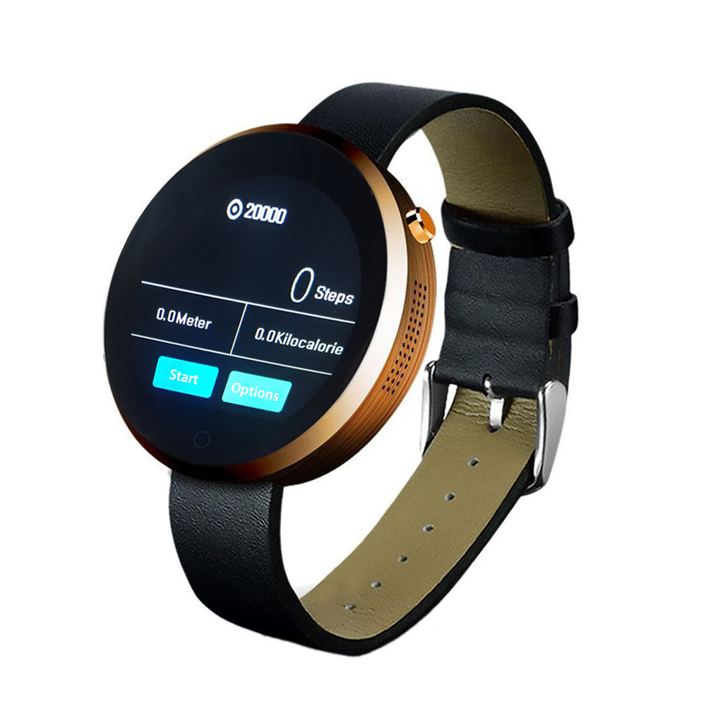 men women fashion smart watch android business wrist. Black Bedroom Furniture Sets. Home Design Ideas