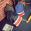 Hot Sale Fashion 3D Shark Backpack Women Men Student PU Backpacks Travel Bags Schoolbag Bookbags Daypack Mochila Escolar