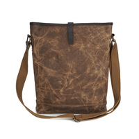 2018 Vintage Luxury Brand Design Men Women Canvas Handbag Male Crossbody Shoulder Bags