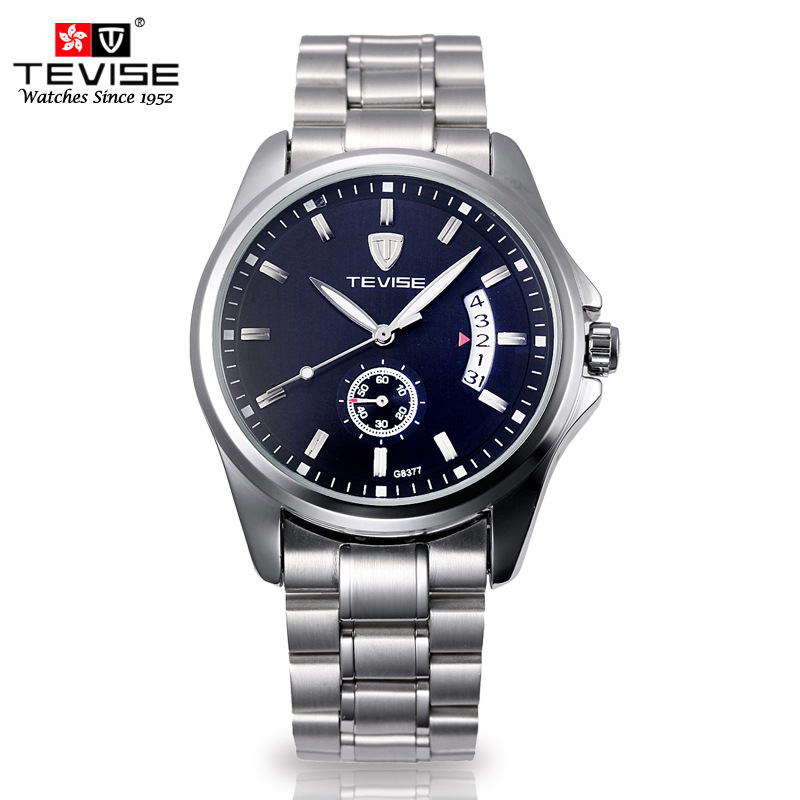 TEVISE Brand 2017 Automatic Mechanical Men Watches Top Luxury Luminous Calendar Watch Clock Male Watches Relogio Masculino Reloj