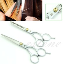 2 X Professional Barber Hair Cutting & Thinning Shears Scissors Hairdressing Set