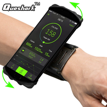 180 Degree Rotatable Running Phone Arm Bag Wrist band Bag Wristlet Phone Case for Jogging Cycling Gym Arm Band Bag 3.5-6in Phone