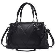 Women Handbags Fashion Leather V Designer Luxury Bags Shoulder Bag Top-handle Ladies 2019 New Sac A Mian