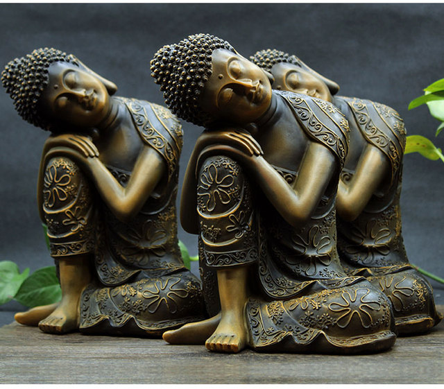 24cm Large Whole Buddhist Supplies Home Family Bless Safe Good Luck Buddha Southeast