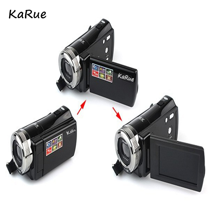 Karue Draagbare Digitale Videocamera Foto 16MP 16X 2.7
