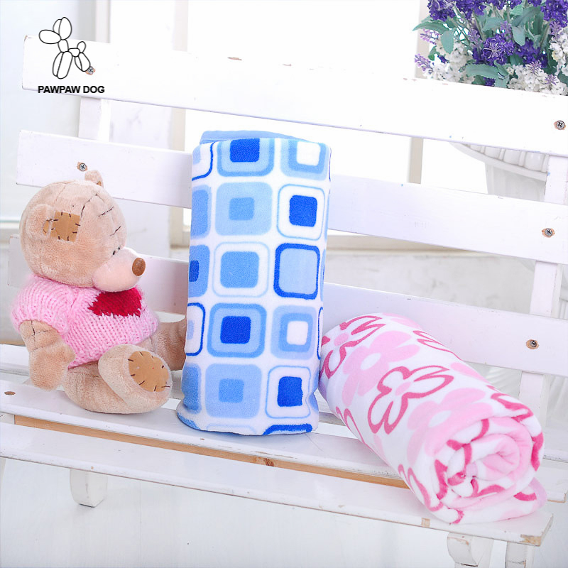 Secret Blanket Manta plaids Fleece Blanket Throws on Sofa/Bed/Plane Travel Plaids blue pink Baby Blanket Children 75X75CM