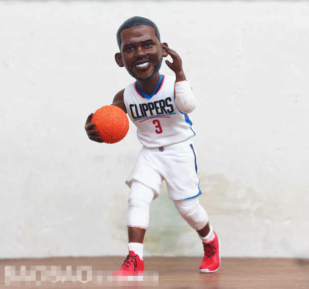 29c1176d7be Old Goods Original Garage Kit Basketball Player CP3 Chris Paul with Ball Action  Figure Collectible Model