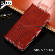 K'try For Xiaomi Redmi 5 Plus Case Stand Case For Xiaomi Redmi 5 Hight Quality Flip Leather Cover For Xiaomi Redmi 5 Plus 5plus