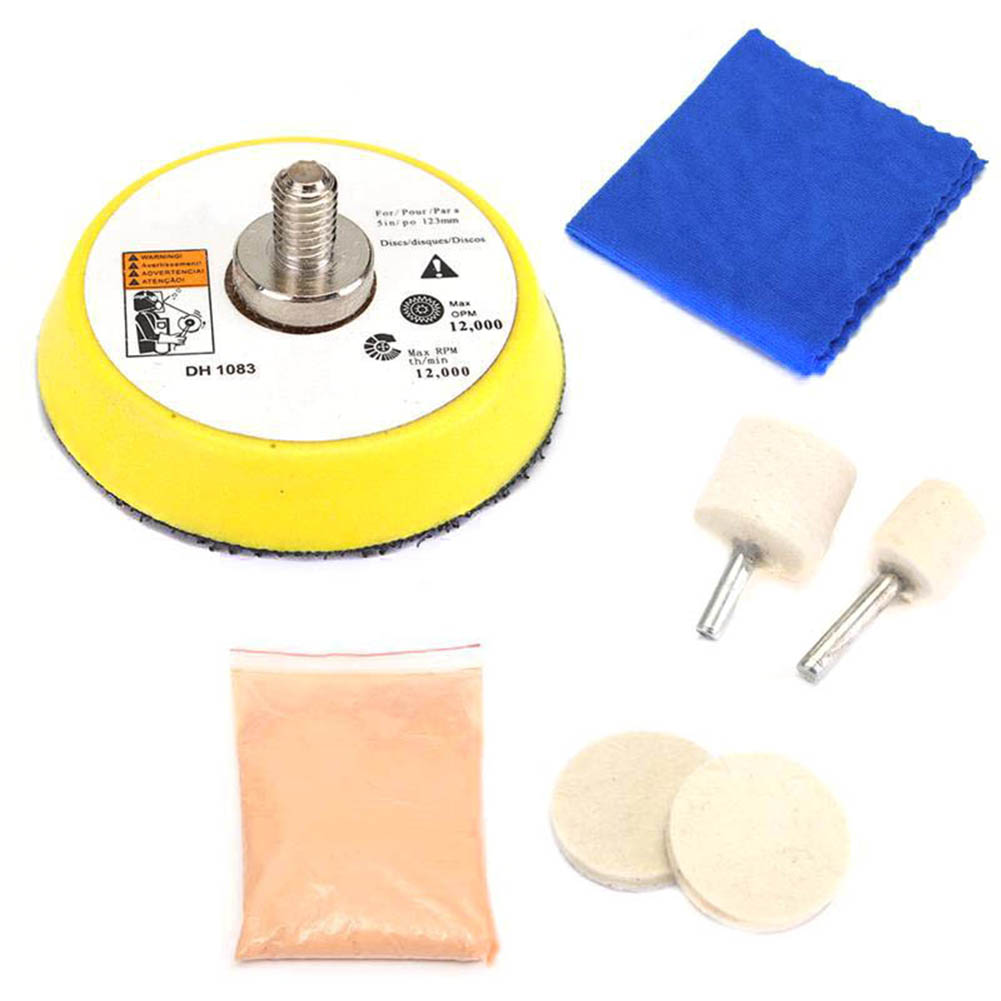 Parabrisas polishing kit-Luz Rasguños