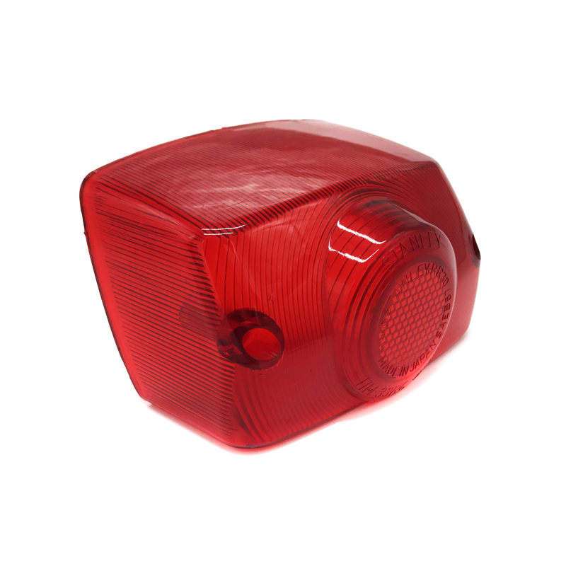 Motorcycle Accessories For Honda Giorno AF24 Motorcycle Scooter Red Taillight Glass Cover Brake Light Cap