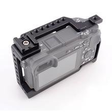 ACCSTORE Gaiola Câmera Estabilizador com Sapata Fria para Sony A6000/A6300/A6500/ILCE-6300/ILCE-6500/NEX7 Gaiola DSLR Kit-505