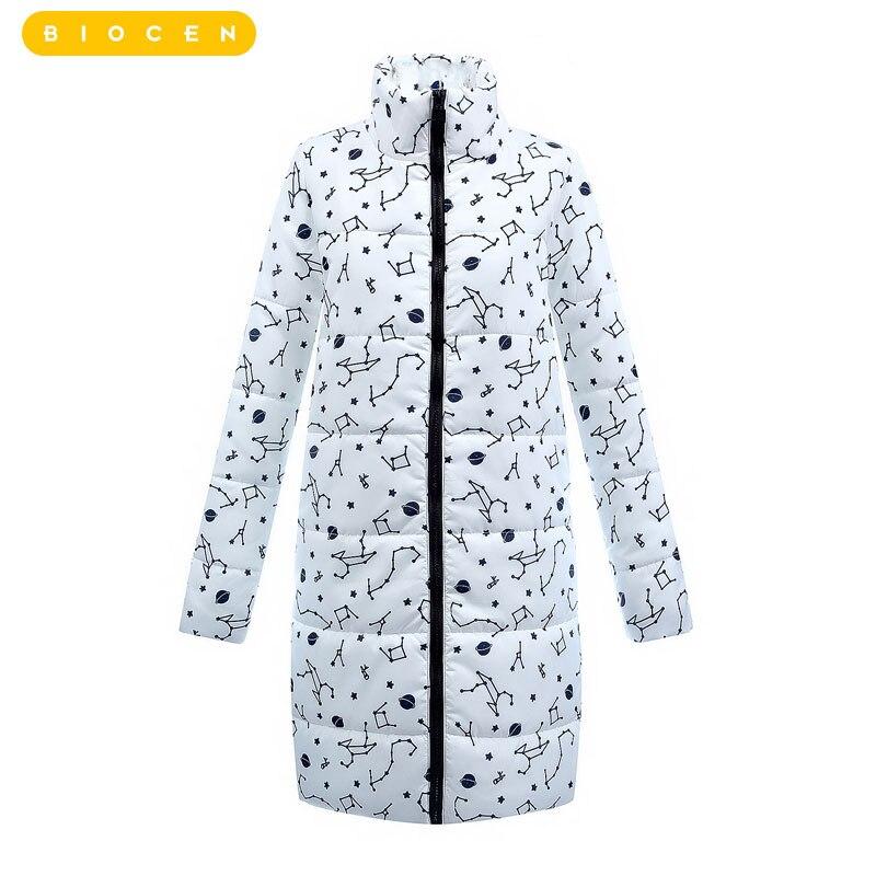 2018 Для женщин хлопок куртка на молнии Женская мода тонкие длинные куртка с капюшоном парка Для женщин женские Стеганая куртка, верхняя одеж...