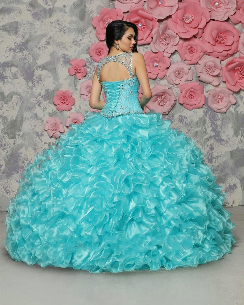3af99acb94 2017 Baratos Azul Real Vestidos de Quinceañera Durante 15 Años ...