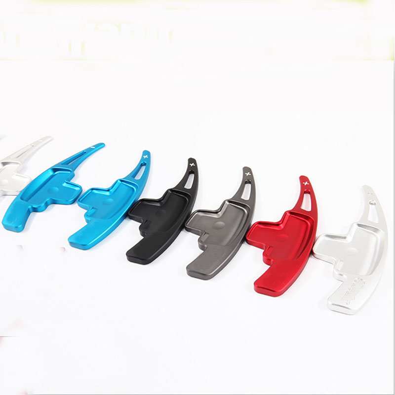 Car Styling For Type A Alminium Alloy Steering Wheel Paddle Shift Switch Shifter Extension alu alloy turnplate for wheel aligner steering turntable
