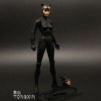 Catwoman Selina Kyle Batman Wonder women Justice League Aquaman Action Figure Model Toy DC