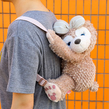 1pcs duffy shelliemay bear cartoon plush bag Plush Backpacks 20160512