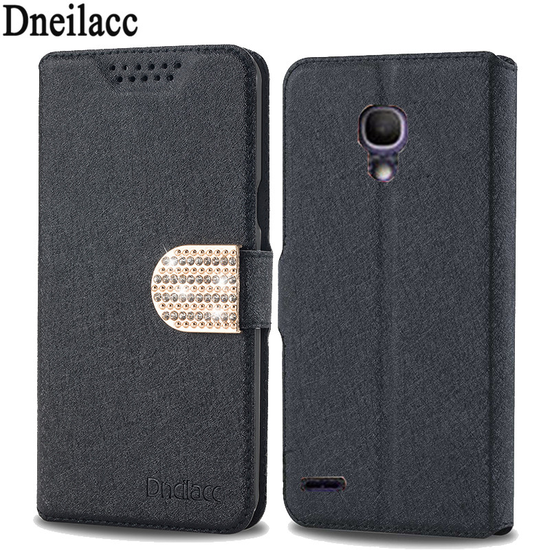 Luxury Flip leather Case For Alcatel One Touch Pop 2 5