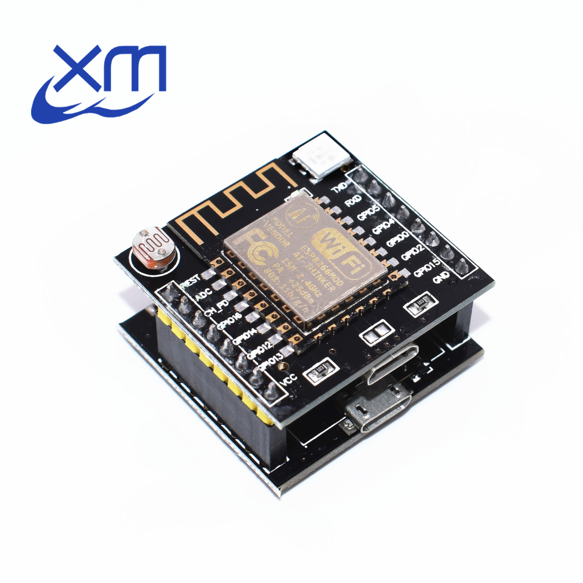 ESP8266 serial WIFI Witty cloud Development Board ESP-12F module MINI nodemcu 5PCS A61 Jizhiyun