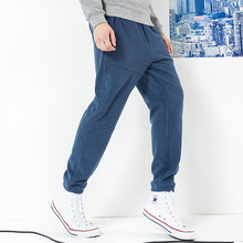 Pioneer camp winter thick fleece sweatpants men letter embroidery warm loose trousers male quality pants AZZ801373(China)