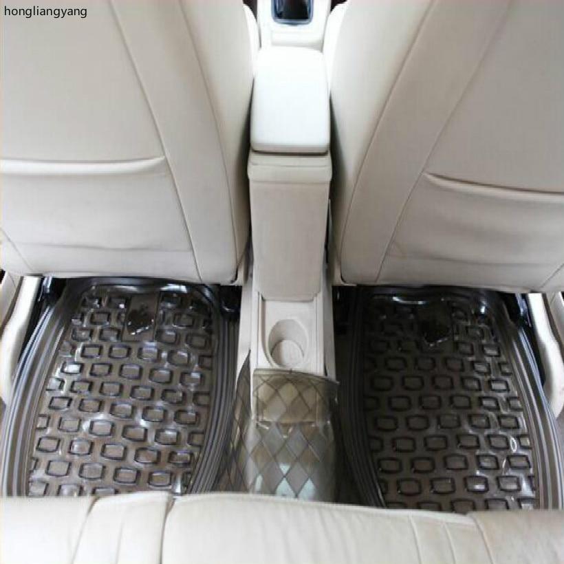 PVC kaymaz su geçirmez 46 * 46 CM evrensel arka koltuk araba - Araç Içi Aksesuarları - Fotoğraf 1