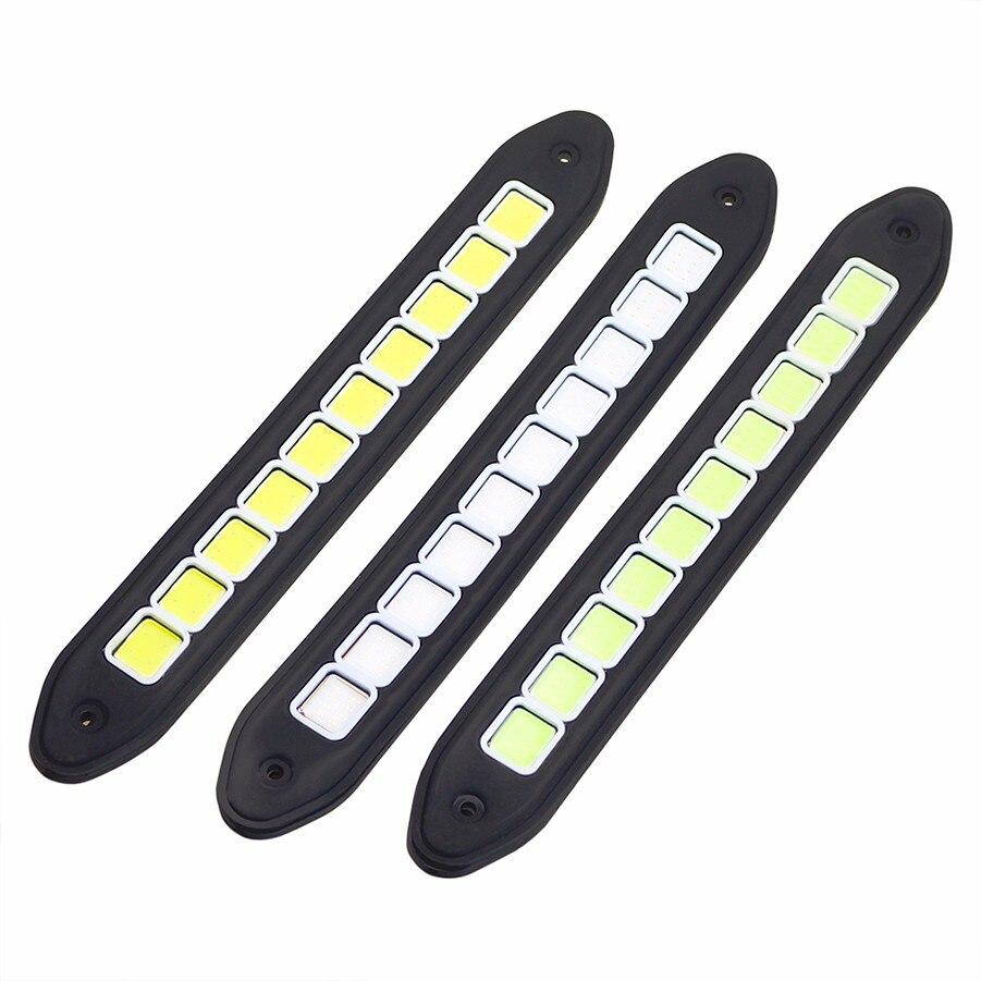 1 pary samochodów LED do jazdy dziennej (biały) Włącz sygnał - Światła samochodowe - Zdjęcie 5