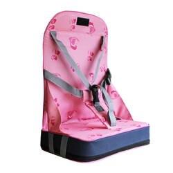 Детские Портативный Booster ужин стул Водонепроницаемый складной кемпинг обеденный Кормление стульчик для кормления малыша travel обеденный