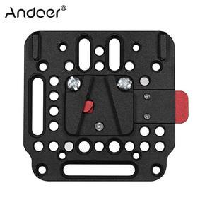 Image 2 - V Lock Assembly Kit Quick Release Plate Set Based on the Standard V Lock Camera Rig   1846 for V Mount Battery 2018 New
