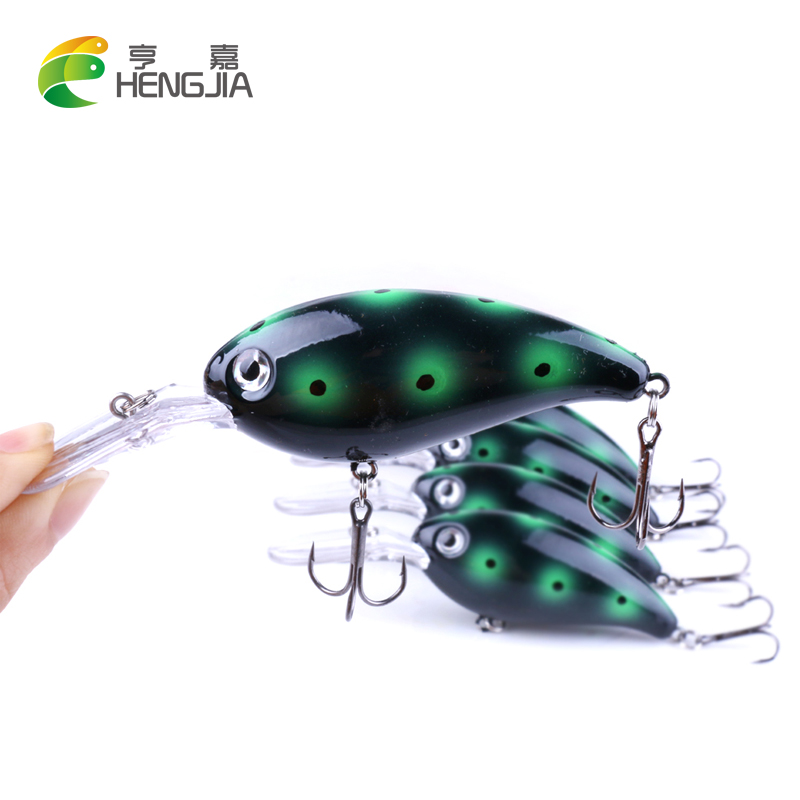 HENGJIA 10cm 13.8g new Fishing Lure Crankbait Floating Wobblers Best Crank Hard Bait Carp Fishing pesca pike trolling wldslure 1pc 54g minnow sea fishing crankbait bass hard bait tuna lures wobbler trolling lure treble hook