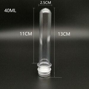 Image 5 - Пластиковая тестовая трубка с алюминиевой крышкой, 50 шт., 40 мл, Упаковочная трубка с чувствительным к давлению запаянным конфетным капсулом, 5,6 дюйма