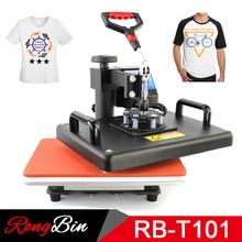 12×15 Inch T-shirt Heat Press Machine Digital Swing T-shirt Heat Transfer Machina T-shirt Printing Machine Sublimation DIY Print