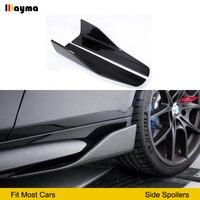 Углеродного волокна сбоку юбки для BMW E60 M5 F10 G30 F22 F23 F87 M2 F32 F33 F36 F82 M4 E90 E92 F30 M3 спортивный стиль СТОРОНЫ СПОЙЛЕР
