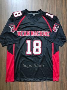EJ Mean Machine Paul Crewe  18 American Football Jersey Longest Yard Movie a426ce095
