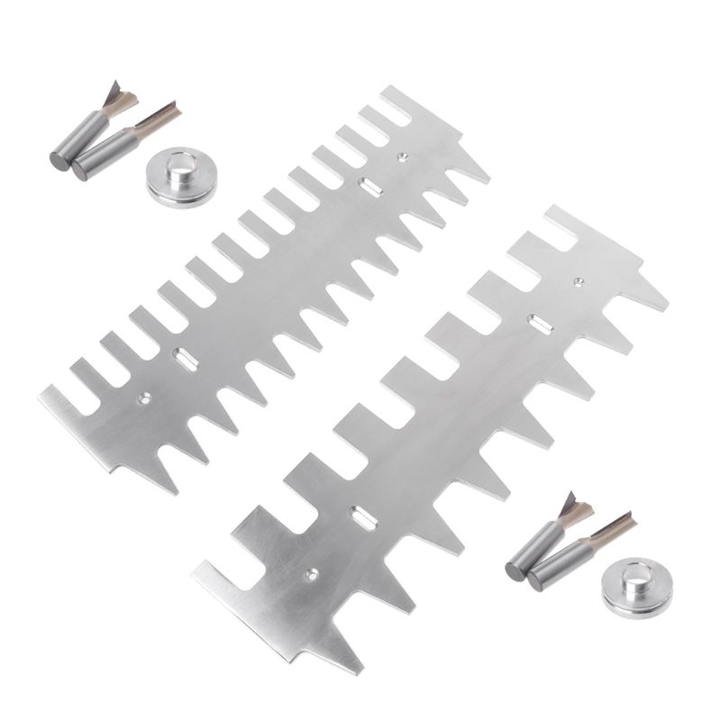Dovetail Template 1 4 Shank Straight Bit Guide Bushing Set 15 16 Aluminum Alloy Drawers Accessories