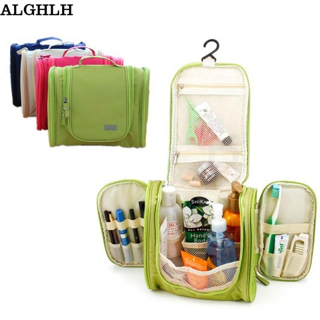 9dc4023ecb0a ALGHLH Men Women Travel Organizer Hanging Wash Toiletry Cosmetics MakeUp  Shaving Kit Large Capacity Multifunction Storage Bag