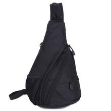 Masculino de alto grado resistente al desgaste pecho hombro del recorrido del bolso de hombro de las mujeres de ocio mochila de Camuflaje resistente al desgaste bolsa luxur