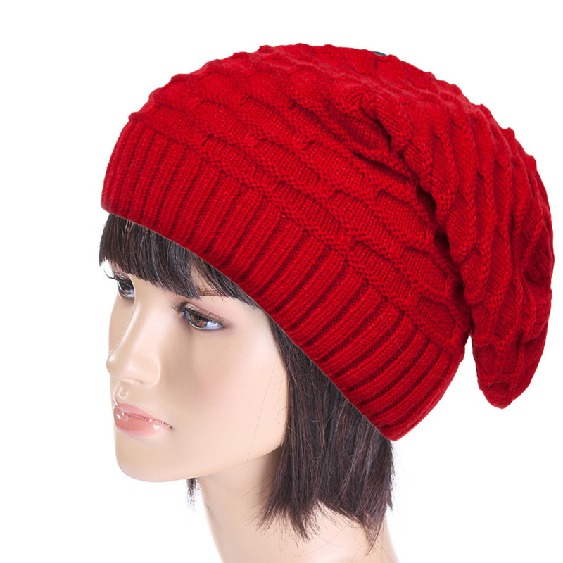 Fashion Womens Winter Hats Twist Pattern Beanies Women Gorros For Female Knitted Warm Solid Skullies Touca Chapeu Feminino D91 mengpipi womens letters knitted hats winter glass sequins beanie hat cap chapeu gorros de lana touca casquette cappelli bonnets
