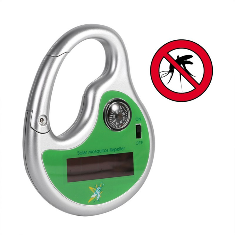 Ultrasonic Electronic Drive Mosquito Solar Charging Outdoor Mosquito Repellent Portable Hook Type Pest Repeller Insect KillerUltrasonic Electronic Drive Mosquito Solar Charging Outdoor Mosquito Repellent Portable Hook Type Pest Repeller Insect Killer