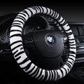 2017 New Arrival 4Colors Car Steering Wheel Cover Flannelette Tiger patternSize 38cm For VW Skoda Chevrolet Ford  etc. 98% Cars