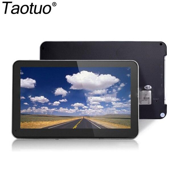 7Inch HD Car GPS Navigation 2015 New Map CE 6.0 800M FM Multi-languages Portable Auto Touch Screen Satnav GPS Navigator