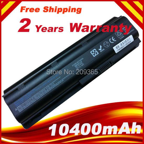 12 Celdas de batería portátil para HP DV3 DV5 DV6 DV7 G32 DM4 MU06 G42 G56 G62 G72 compaq Presario CQ32 CQ42 CQ56 CQ62 CQ72 CQ630