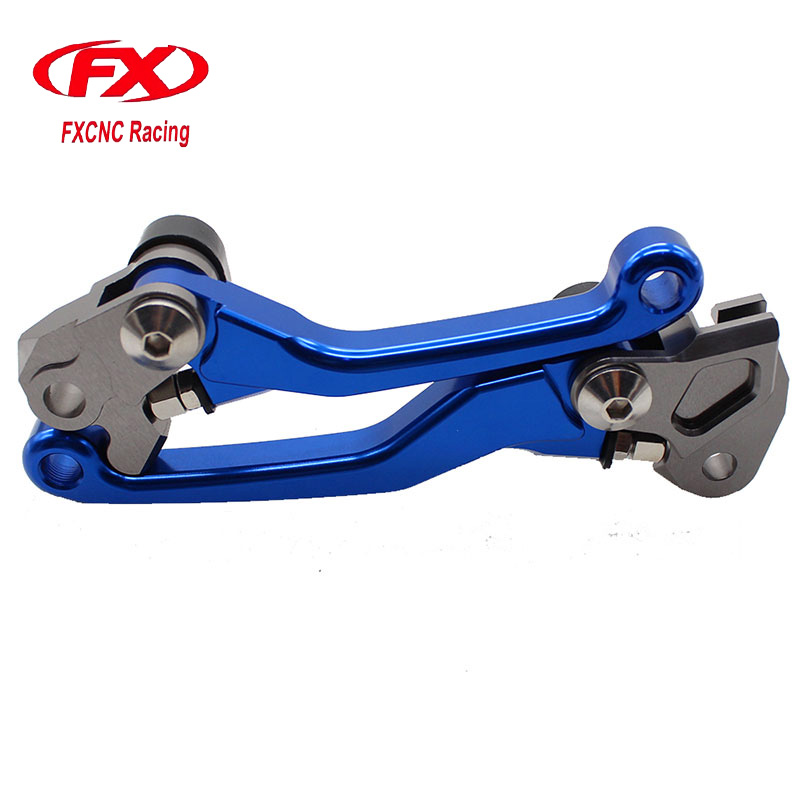 FX CNC Dirt Bike Pivot Brake Clutch Levers Fit For YAMAHA YZ250 YZ125 YZ250F YZ426F YZ450F YZ125X YZ250X Motocross Parts fxcnc universal stunt clutch easy pull cable system motorcycles motocross for yamaha yz250 125 yz80 yz450fx wr250f wr426f wr450